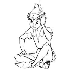 Peter Pan Coloring Pages Free Printables Peter pans