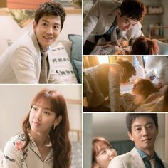Kim Rae won and Park shin hye in Doctors 2016