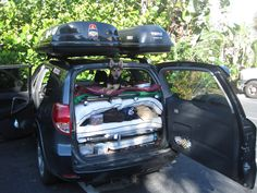 Has anyone built a car bed inside their Rav4 for camping? - Toyota RAV4 Forums
