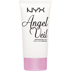 Amanda Ensing says this is a dupe for Hourglass Mineral Veil - Nyx Cosmetics - Angel Veil Skin Perfecting Primer in Make Makeup, Makeup Primer, Drugstore Makeup, Makeup Tips, Makeup Goals, Makeup Tutorials, Daily Makeup, Beauty Makeup, Best Drugstore Primer