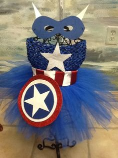 88 of the Best DIY No-Sew Tutu Costumes - DIY for Life Captain America