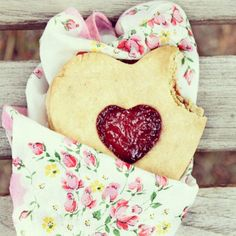 Goodmorning!!!  #breakfast #morning #cookie #heart #marmelade #heart #cute #sweet food #floral #flowers #vintage #retro #girly #romantic