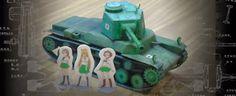 [girls und panzer] type 3 medium tank chi-nu