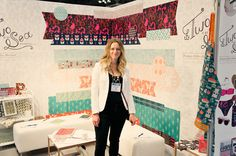 My Surtex Booth : Two if by Sea Studios 2014 #pattern #surfacepattern