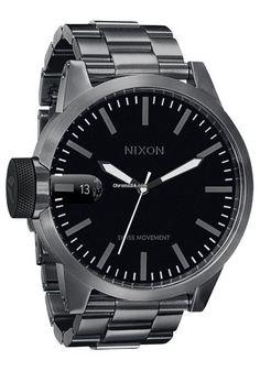 Nixon The Chronicle SS All Gunmetal Men´s Watch en venta por Mex$6,326 por parte de un Trusted Seller de Chrono24
