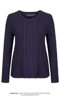 4e1973d13e9 A652 Irelands Eye - Navy Cotton Portrush Sweater