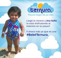Llegó Ana Sofía disfrutando al máximo el verano!!