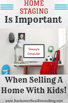 Tips For Selling A Home With Kids - Home Selling - Home Selling Tips - - Home Staging Is Important When Selling A Home With Kids www.rochesterreal via Kyle Hiscock REALTOR Licensed Real Estate Salesperson e-PRO Home Selling Tips, Selling Home By Owner, Home Buying Tips, Selling Your House, Sell Your House Fast, Declutter Your Home, Real Estate Tips, Home Hacks, Kids House