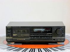 Technics RS B655 1989 Radios, Magnetic Tape, Cassette, Hifi Audio, Boombox, Audio Equipment, Audio System, Audiophile, Sony