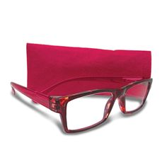 Tortoise And Burgundy 2.25 Magnification Reading Glasses