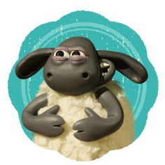 Discover & share this Aardman Animations Sticker for iOS and Android. Bring your texts and messages to life with our collection of GIPHY Stickers. Adult Cartoons, Funny Cartoons, Sheep Art, Baby Sheep, Shaun The Sheep, Cartoon Gifs, Cute Gif, Disney Cars, Wtf Funny