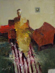 "Saatchi Art Artist Danny McCaw; Painting, ""STRIPED RUG"" #art (Lisa Woolf)"
