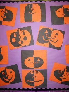 Positive/Negative Pumpkins