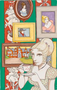 Jane Austen's Emma illustrated by Janet Lee