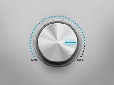 Cool volume button