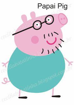 Cecília... Sou dela, sem ela não sou...: Atendendo a pedidos - Moldes Peppa Pig…