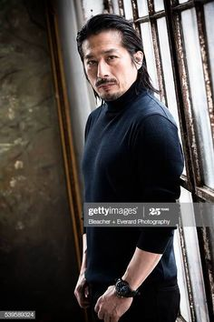 Actor Hiroyuki Sanada is photographed for August Man on May 2015 in New York City. Get premium, high resolution news photos at Getty Images Chiba, Pretty People, Beautiful People, Kai, Asian Men, Asian Guys, Japanese Culture, Good Looking Men, Asian Style