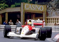 Ayrton Senna, most likely in Monaco