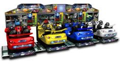 Street Racing Stars SDX2-4 Super Deluxe Video Arcade Racing Motion Simulator Game From Injoy Motion