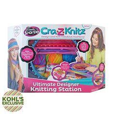 Cra-Z-Knitz Ultimate Designer Knitting Station by Cra-Z-Art
