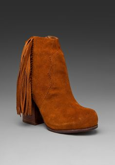 fringy Jeffrey Campbell boots