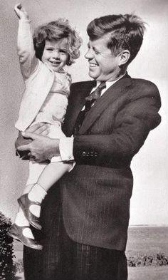 JFK and his precious baby