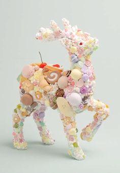 見てるだけでシアワセ!渡辺おさむ氏のスイーツデコアート展「Sweets Sentiment」