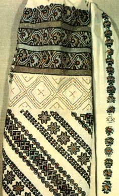 Costume and Embroidery of Bukovyna, Ukraine, part 1 morshchanka Folk Embroidery, Embroidery Patterns, Floral Embroidery, Cross Stitch Bird, Cross Stitch Patterns, Hippy Fashion, Folk Costume, Traditional Outfits, Quilts