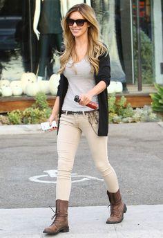 Audrina Patridge wearing Chanel Mini Flap Over Bag