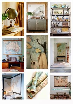 Styling Inspiration - Maps and Globes
