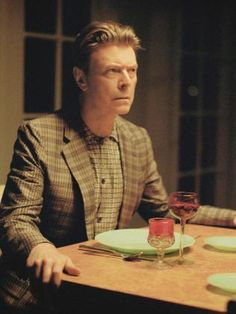 2013 ... David Bowie playing his role in a scene from the short film <i>The Stars (Are Out Tonight)</i> that accompanies his single. Picture: AFP