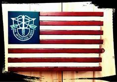 US Special Forces - Concealment Flag (Hidden Compartment)