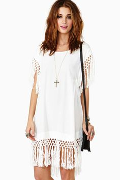 Somedays Lovin' Wanderlust Fringe Dress For Women Altered Couture, Diy Dress, Dress Outfits, Women's Dresses, Shirt Dress, Umgestaltete Shirts, Robe Diy, Diy Kleidung, Estilo Hippie