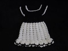 Black and White dress --- FREE SHIPPING