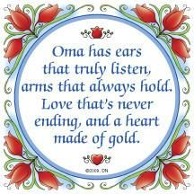 Oma Gift Wall Plaque: Oma Heart of Gold..