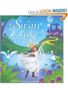 Swan Lake (Usborne Noisy Books): Amazon.co.uk: Lesley Sims, Anna Luraschi: Books