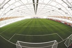 St George's Park indoor pitch