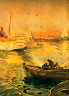 The Athenaeum - Muelle de pescadores (Joaquin Mir Trinxet - )