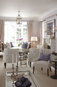 Love this living room -   Sarah's House, HGTV