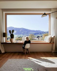Inspiration Déco – Une maison de famille avec vue sur les collines autrichiennes Do you need inspiration? Come and discover our new article filled with original photo A family house with a view of the Austrian hills Sometimes it's the… Continue Reading → Home Interior Design, Interior Architecture, Interior And Exterior, Interior Stylist, Interior Design Curtains, Studio Interior, Scandinavian Home, My Dream Home, Home Office