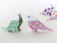 DIY-Anleitung: Origami-Wellensittich falten via DaWanda.com