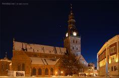 Dome church in Old Riga.