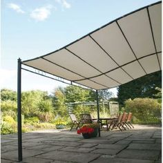3m x 2.5m Wall Mounted Gazebo from worldstores.co.uk