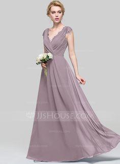 JJsHouse Chiffon Bridesmaid Dress in Dusk