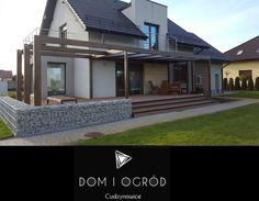 Garden Veranda Ideas, Pergola Patio, Backyard, Diy Greenhouse Plans, Bungalow House Design, Building Exterior, Pool Houses, Mansions, House Styles