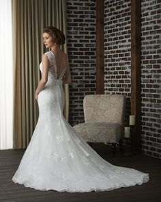 63 best Low and Open Back Wedding Dresses images on Pinterest in ...