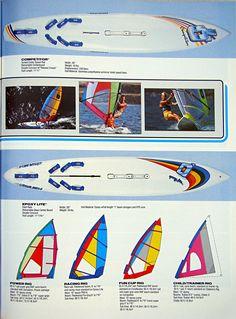 OBRIEN windsurfing 1986