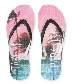 2803e1fae477f2 Paradise Flip-Flop - Aeropostale Beach Sandals