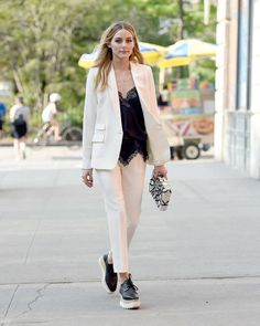 Olivia Palermo: Arriving at Piaget Possession Event