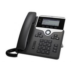 The #Cisco 7821 IP #phone includes a 2-way navigation button and dedicated fixed keys for commonly used office call needs like conference, messaging, and directory.